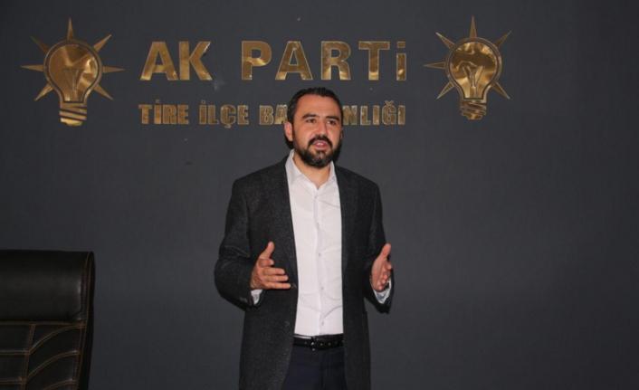 AK Parti Tire İlçe Başkanı Falakalı: CHP Hakan Şenoyar'ı görevden almalı!