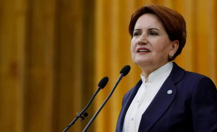 Akşener'den 'Başbakan' çıkışı