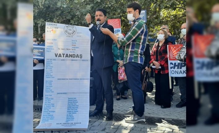 CHP'den elektrik ve doğalgaz zammı çıkışı: Fatura yine vatandaşa!