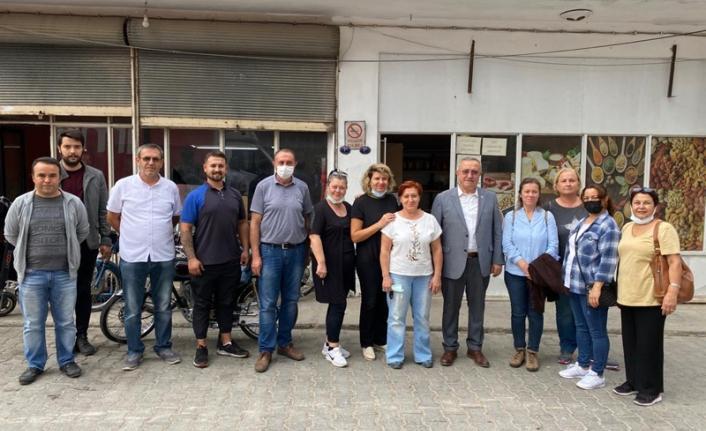 CHP Gaziemir'den esnafa 'yanınızdayız' mesajı