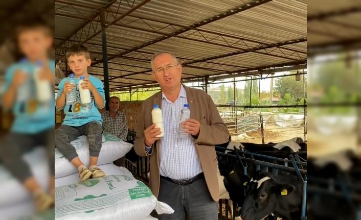 CHP'li Sertel üreticiyi dinledi: Su parasına süt!