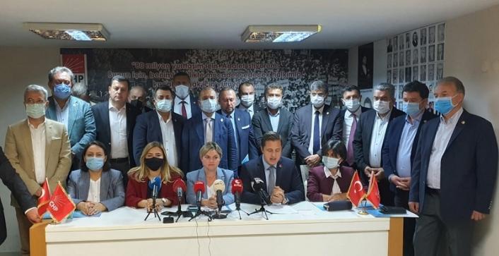 CHP'de 2 günlük maratonun startı verildi: 8 ilçede karış karış mesai