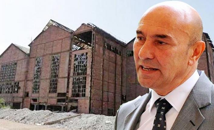 Tunç Soyer'den Tarihi Elektrik Fabrikası çıkışı: Siyasi çıkarlar uğruna...