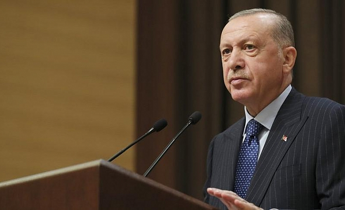 Erdoğan'dan ABD'ye tepki ve 'yeni parti S-400' mesajı