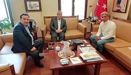 BORNOVA KAYMAKAMINI MAKAMINDA ZİYARET ETTİK!