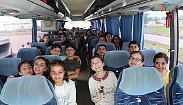Bulanıklı öğrenciler Çanakkale gezisine gönderildi