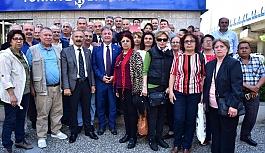 CHP Bornova İlçe Örgütü'nden İmamoğlu'na destek
