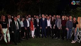 Egeliler 64'üncü yılda iftar programında buluştu