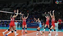2019 FIVB Voleybol Milletler Ligi: Türkiye: 1 - Belçika: 3