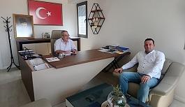 Ahmet Serkan Ulaş, Ege Ajansımızı Ziyaret Etti
