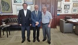 Başkan Tunç Soyer'i EGE AJANS olarak ziyaret ettik