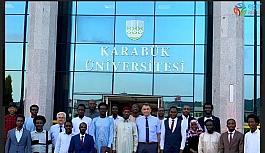 Çad Büyükelçisi KBÜ'de öğrencilerle istişare etti
