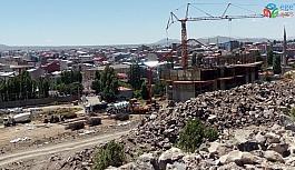 Kars'ta TOKİ konutları yükseliyor