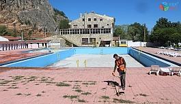 İnönü Pınarbaşı havuzlarında kaptaj çalışmaları tamamlandı