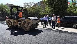 Muş Belediyesinden geçici asfalt çalışması