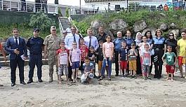 Sevgi Evindeki çocuklar boğulma olaylarına karşı bilgilendirildi
