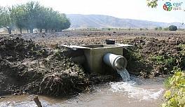 Proje ile köyün sulama alanı 4 kata çıktı