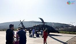 Jandarma helikopteri 'hayat kurtarmak' için havalandı