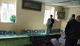 Kaymakam Kaya Karlık Sultan Türbesini ziyaret etti, köyü halkının sorunlarını dinledi