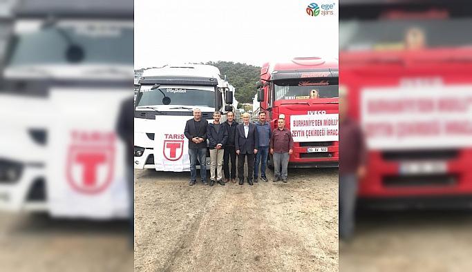 Kömüre alternatif zeytin çekirdeği Yunanistan'a ihraç ediliyor