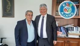 Mustafa Özuslu'ya ziyaret