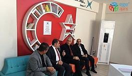 Araştırmacı yazar Yıldız, Gercüş'te öğrencilerle bir araya geldi