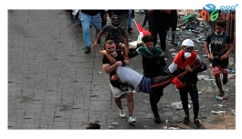 Bağdat'ta göstericilere ateş açıldı: 16 kişi öldü