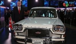 Erdoğan, yerli otomobilin tanıtım töreninde konuşuyor