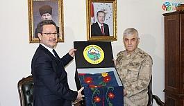 Jandarma Genel Komutanı Orgeneral Çetin, Iğdır Valisi Ünlü'yü ziyaret etti