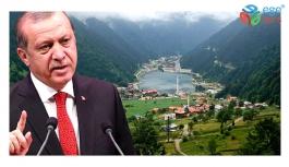 Karadeniz'in gözdeleri Uzungöl ve Ayder'de kentsel dönüşüm başlıyor