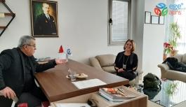Meral Erdoğan'dan Ege Ajans'a ziyaret