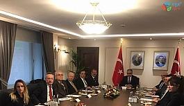 BTSO Başkanı Ateş Cumhurbaşkanlığı'nda toplantıya katıldı