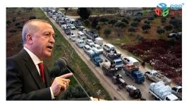Cumhurbaşkanı Erdoğan: İdlib'den gelen göç dalgasına ilişkin tedbirimizi aldık