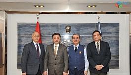 ESOGÜ Rektörü Şenocak'tan Hava Kuvvetleri Komutanı Hava Orgeneral Küçükakyüz'e ziyaret