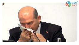 İçişleri Bakanı Süleyman Soylu'nun canlı yayında burnundan kan geldi