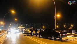 Karaman'da 7 aracın karıştığı zincirleme kaza ucuz atlatıldı