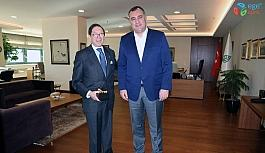 Kolombiya Büyükelçisinden Taşdelen'e ziyaret