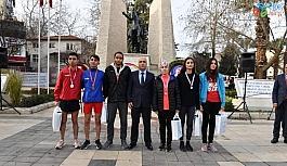 Atatürk'ün Denizli'ye gelişinin 89'uncu yıl dönümü kutlandı