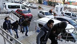 Bonzai ile yakalanan şüpheliler tutuklandı