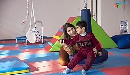"""Büyükşehir Belediyesinden özel çocuklara """"Duyu Bütünleme Terapisi"""""""