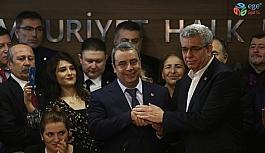 CHP Bursa İl Başkanı İsmet Karaca göreve başladı