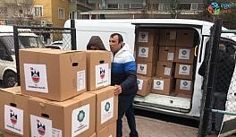 Diyarbakır Büyükşehir Belediyesi'nden Elazığ'a gıda yardımı