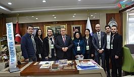 Manisa Ahbap'tan Başkan Çerçi'ye teşekkür