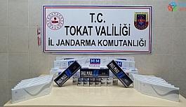 Valizden çıkan kaçak sigaraya 8 bin 400 lira ceza