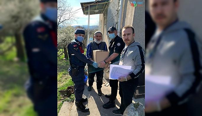 Safranbolu'da yaşlıların ihtiyaçları karşılanmaya başlandı