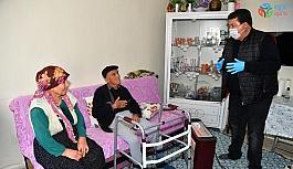 Yaşlı çift çareyi Başkan Çetin'i aramakta buldu