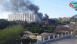 Libya'da Hafter güçleri korona virüsü hastalarının tedavi edildiği hastaneyi vurdu
