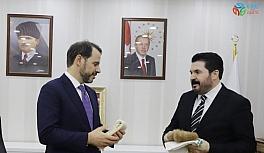 Ağrı Belediye Başkanı Sayan'dan Bakan Albayrak'a destek mesajı