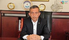 """Başkan Tanoğlu: """"Rahmet, bereket ve mağfiret ayı Ramazan-ı Şerif'in sonuna gelerek bir bayrama daha kavuşmanın mutluluğunu yaşıyoruz"""""""