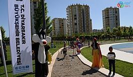 Çocuklar Büyükşehir Belediyesinin spor etkinliğiyle eğlendi